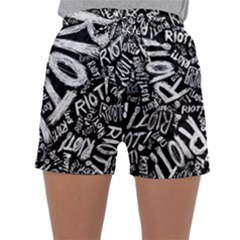 Panic At The Disco Lyric Quotes Retina Ready Sleepwear Shorts