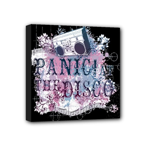 Panic At The Disco Art Mini Canvas 4  X 4  by Onesevenart