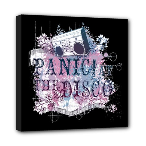 Panic At The Disco Art Mini Canvas 8  X 8  by Onesevenart