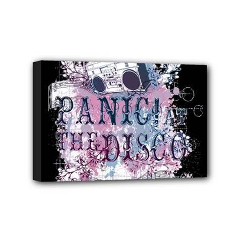 Panic At The Disco Art Mini Canvas 6  X 4  by Onesevenart
