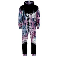Panic At The Disco Art Hooded Jumpsuit (men)  by Onesevenart