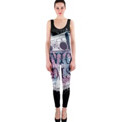 Panic At The Disco Art Onepiece Catsuit by Onesevenart