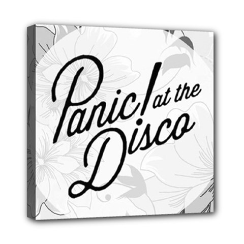 Panic At The Disco Flowers Mini Canvas 8  X 8  by Onesevenart