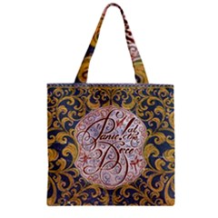Panic! At The Disco Zipper Grocery Tote Bag by Onesevenart