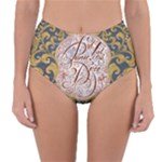 Panic! At The Disco Reversible High-Waist Bikini Bottoms