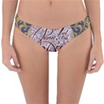Panic! At The Disco Reversible Hipster Bikini Bottoms