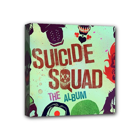 Panic! At The Disco Suicide Squad The Album Mini Canvas 4  X 4  by Onesevenart