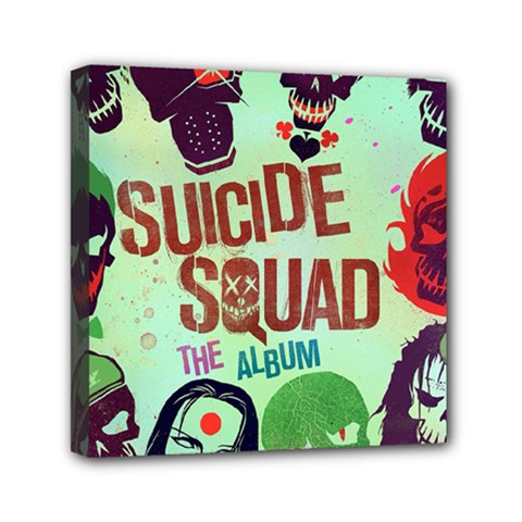 Panic! At The Disco Suicide Squad The Album Mini Canvas 6  X 6  by Onesevenart