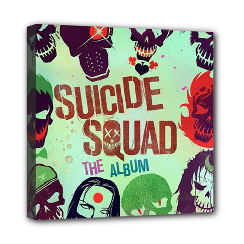 Panic! At The Disco Suicide Squad The Album Mini Canvas 8  X 8  by Onesevenart