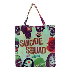 Panic! At The Disco Suicide Squad The Album Grocery Tote Bag by Onesevenart
