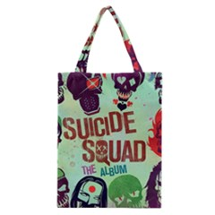 Panic! At The Disco Suicide Squad The Album Classic Tote Bag by Onesevenart