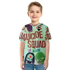 Panic! At The Disco Suicide Squad The Album Kids  Sport Mesh Tee by Onesevenart