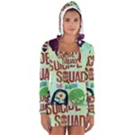 Panic! At The Disco Suicide Squad The Album Long Sleeve Hooded T-shirt