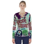 Panic! At The Disco Suicide Squad The Album V-Neck Long Sleeve Top
