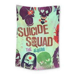 Panic! At The Disco Suicide Squad The Album Small Tapestry by Onesevenart