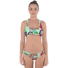 Panic! At The Disco Suicide Squad The Album Cross Back Hipster Bikini Set by Onesevenart