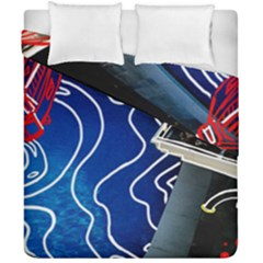 Panic! At The Disco Released Death Of A Bachelor Duvet Cover Double Side (california King Size) by Onesevenart