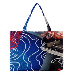 Panic! At The Disco Released Death Of A Bachelor Medium Tote Bag by Onesevenart
