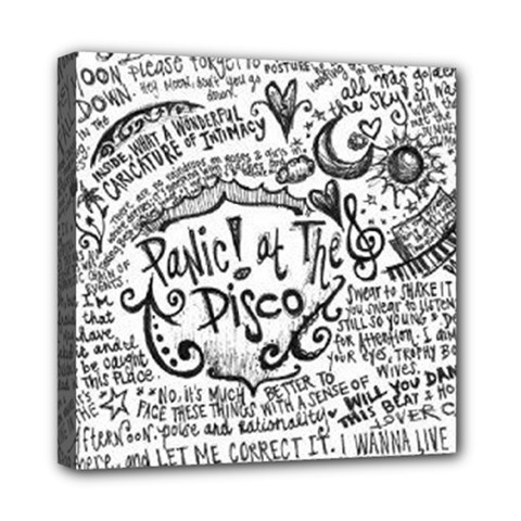 Panic! At The Disco Lyric Quotes Mini Canvas 8  X 8  by Onesevenart