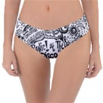 Panic! At The Disco Lyric Quotes Reversible Classic Bikini Bottoms