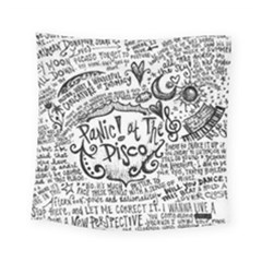 Panic! At The Disco Lyric Quotes Square Tapestry (small) by Onesevenart
