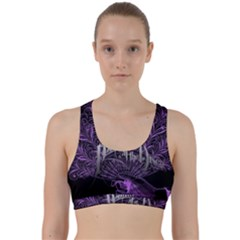 Panic At The Disco Back Weave Sports Bra by Onesevenart