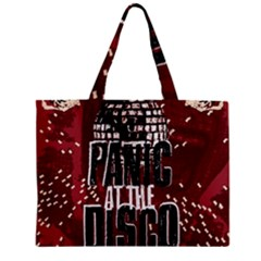 Panic At The Disco Poster Zipper Mini Tote Bag by Onesevenart