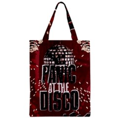 Panic At The Disco Poster Zipper Classic Tote Bag by Onesevenart