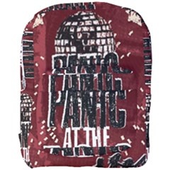 Panic At The Disco Poster Full Print Backpack by Onesevenart
