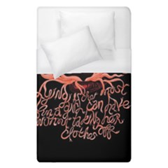 Panic At The Disco   Lying Is The Most Fun A Girl Have Without Taking Her Clothes Duvet Cover (single Size) by Onesevenart