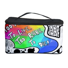 Panic ! At The Disco Cosmetic Storage Case by Onesevenart