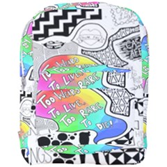 Panic ! At The Disco Full Print Backpack by Onesevenart