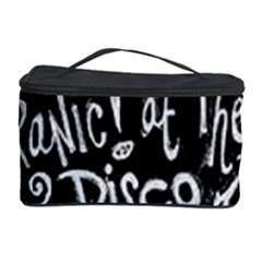 Panic ! At The Disco Lyric Quotes Cosmetic Storage Case by Onesevenart