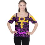 Prince Poster Cutout Shoulder Tee