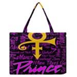 Prince Poster Zipper Medium Tote Bag