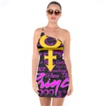 Prince Poster One Soulder Bodycon Dress