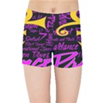 Prince Poster Kids Sports Shorts