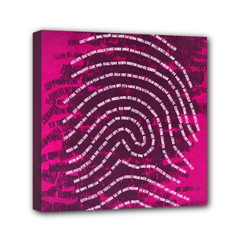 Above & Beyond Sticky Fingers Mini Canvas 6  X 6  by Onesevenart
