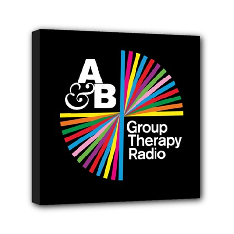 Above & Beyond  Group Therapy Radio Mini Canvas 6  X 6  by Onesevenart