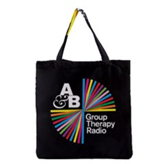 Above & Beyond  Group Therapy Radio Grocery Tote Bag by Onesevenart