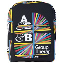 Above & Beyond  Group Therapy Radio Full Print Backpack by Onesevenart