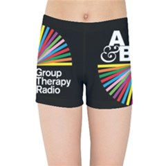 Above & Beyond  Group Therapy Radio Kids Sports Shorts by Onesevenart
