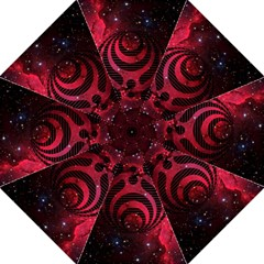 Bassnectar Galaxy Nebula Folding Umbrellas by Onesevenart