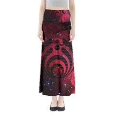 Bassnectar Galaxy Nebula Full Length Maxi Skirt by Onesevenart