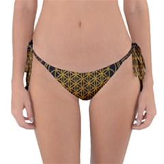 Bring Me The Horizon Cover Album Gold Reversible Bikini Bottom by Onesevenart