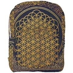 Bring Me The Horizon Cover Album Gold Full Print Backpack by Onesevenart