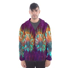 Live Green Brain Goniastrea Underwater Corals Consist Small Hooded Wind Breaker (men) by Mariart