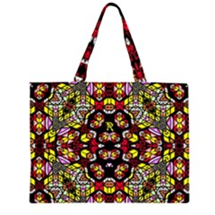 Queen Design 456 Zipper Large Tote Bag by MRTACPANS
