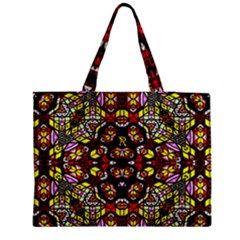 Queen Design 456 Zipper Medium Tote Bag by MRTACPANS