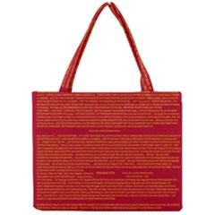 Mrtacpans Writing Grace Mini Tote Bag by MRTACPANS